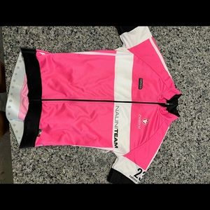 Other - Nalini pink cycle jersey